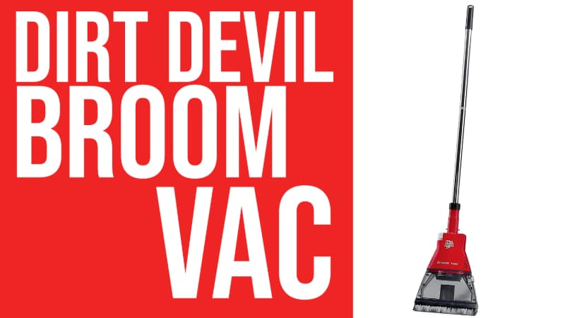 Dirt Devil Broom Vac