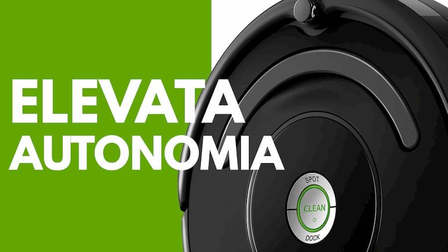Particolare autonomia iRobot Roomba 671