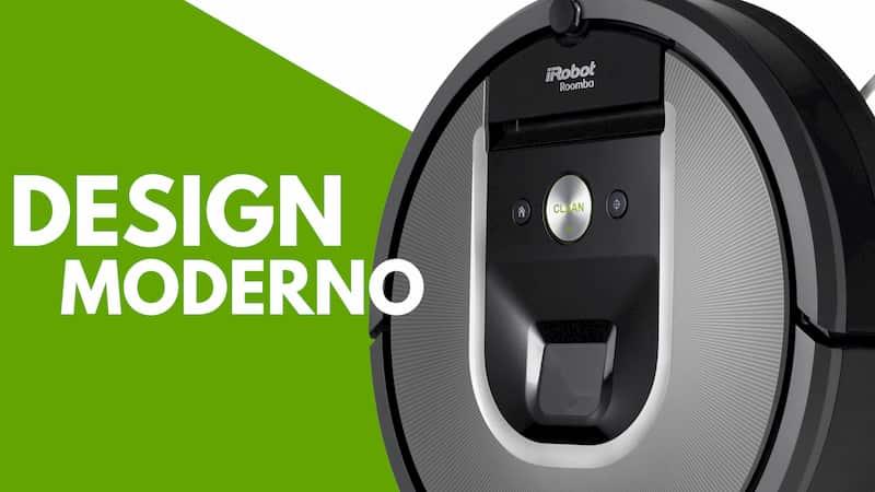 Particolare design iRobot Roomba 960
