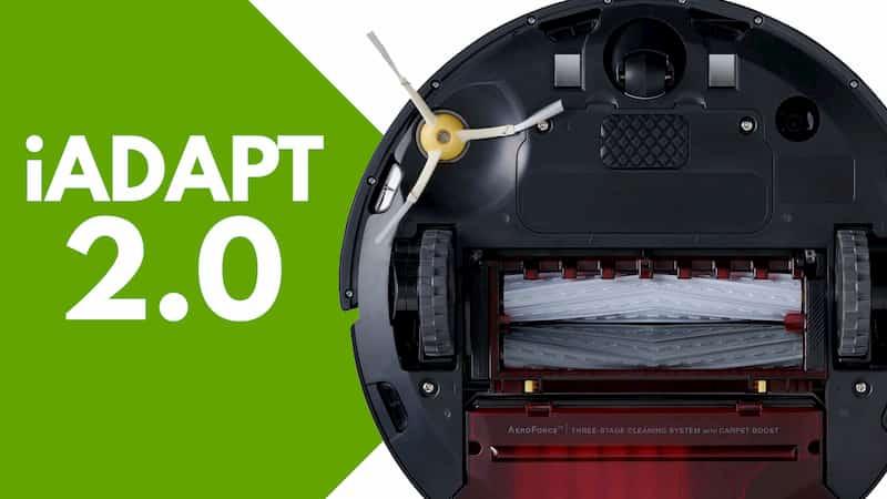 Particolare iAdapt iRobot Roomba 960