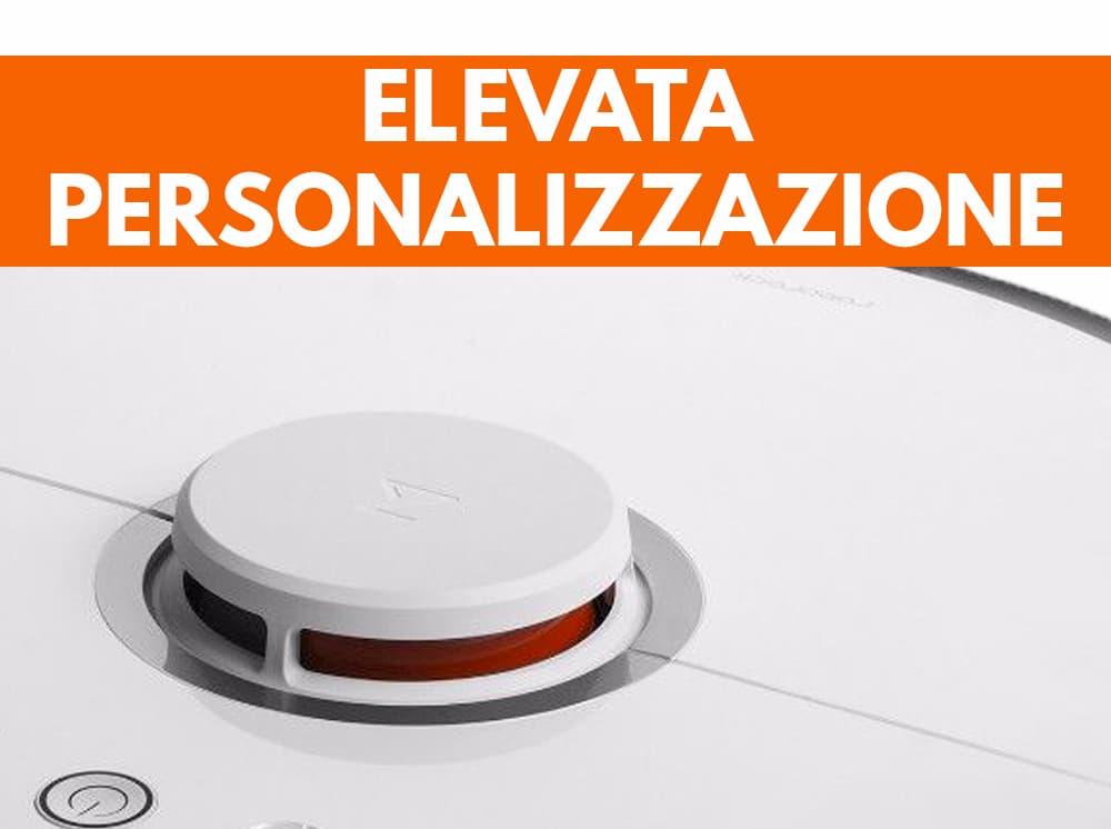 Particolare Personalizzazione Xiaomi Roborock S50 robot aspirapolvere