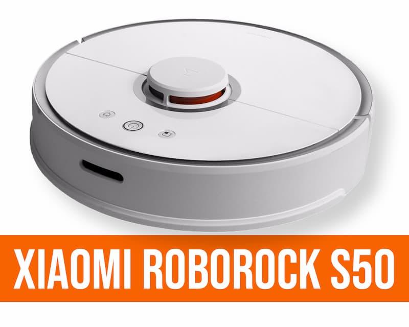 Xiaomi Roborock S50 aspirapolvere robot recensione