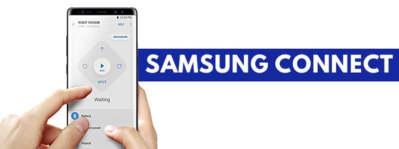 Samsung connect robot aspirapolvere Samsung