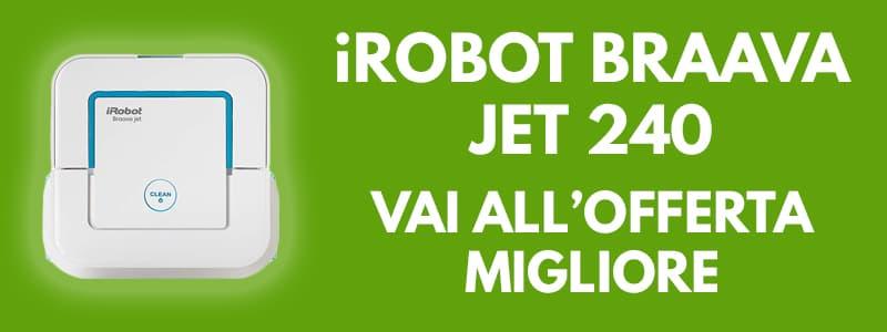 Aspirapolvere robot iRobot Braava Jet 240 banner
