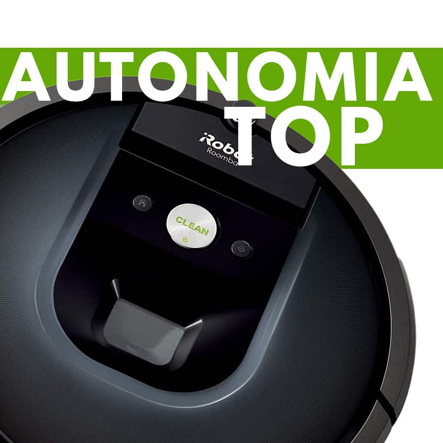 Particolare autonomia iRobot Roomba 981 robot aspirapolvere
