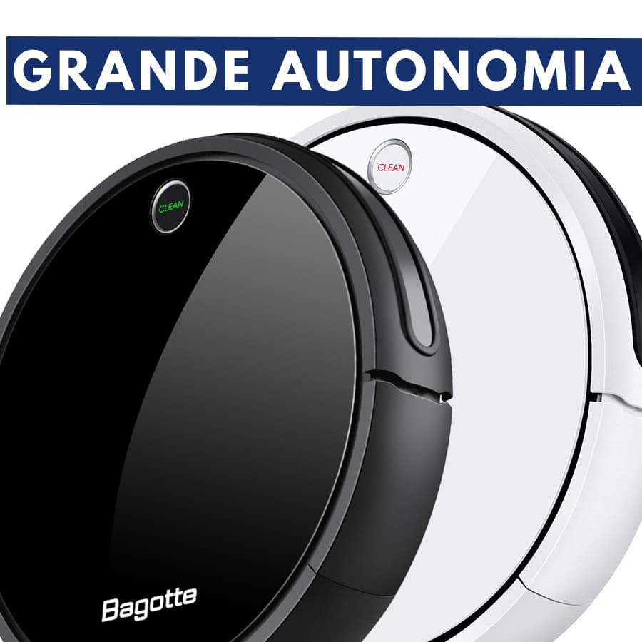autonomia robot aspirapolvere Bagotte i7