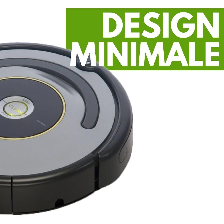 design robot aspirapolvere iRobot Roomba 615