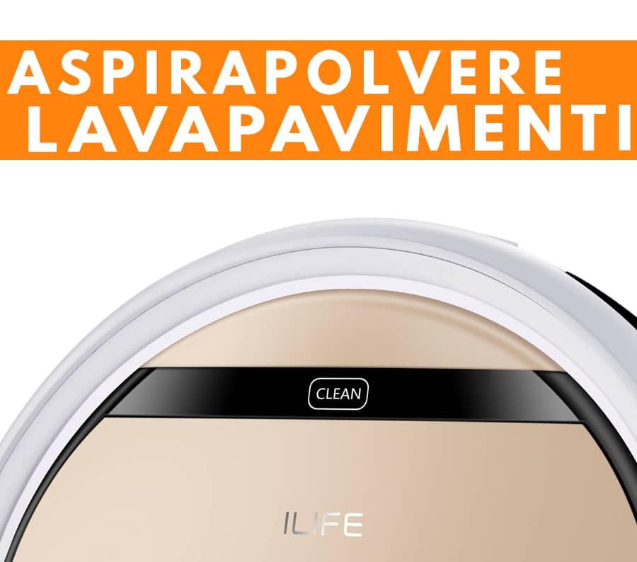 funzione aspirapolvere lavapavimenti ILIFE V5S Pro