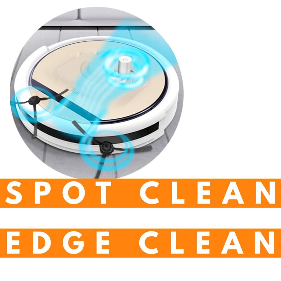funzioni Spot Clean Edge Clean aspirapolvere robot ILIFE V5S Pro