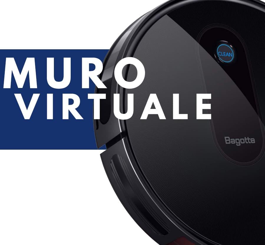 muro virtuale robot aspirapolvere Bagotte