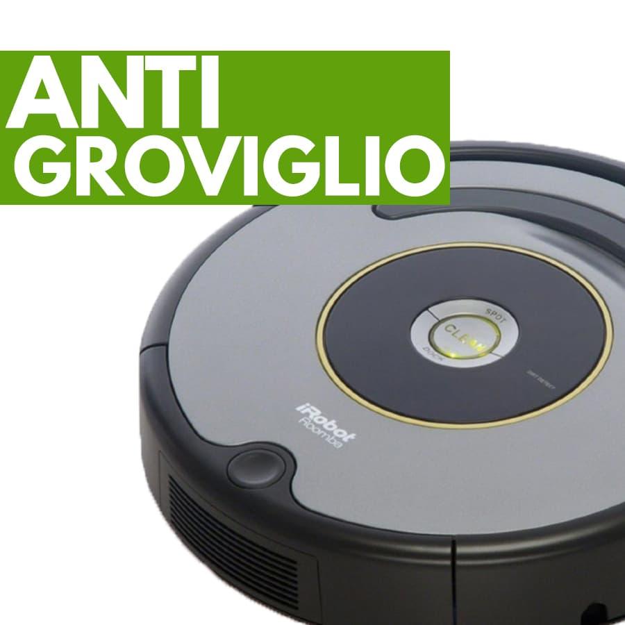 opzione anti groviglio robot aspirapolvere iRobot Roomba 615
