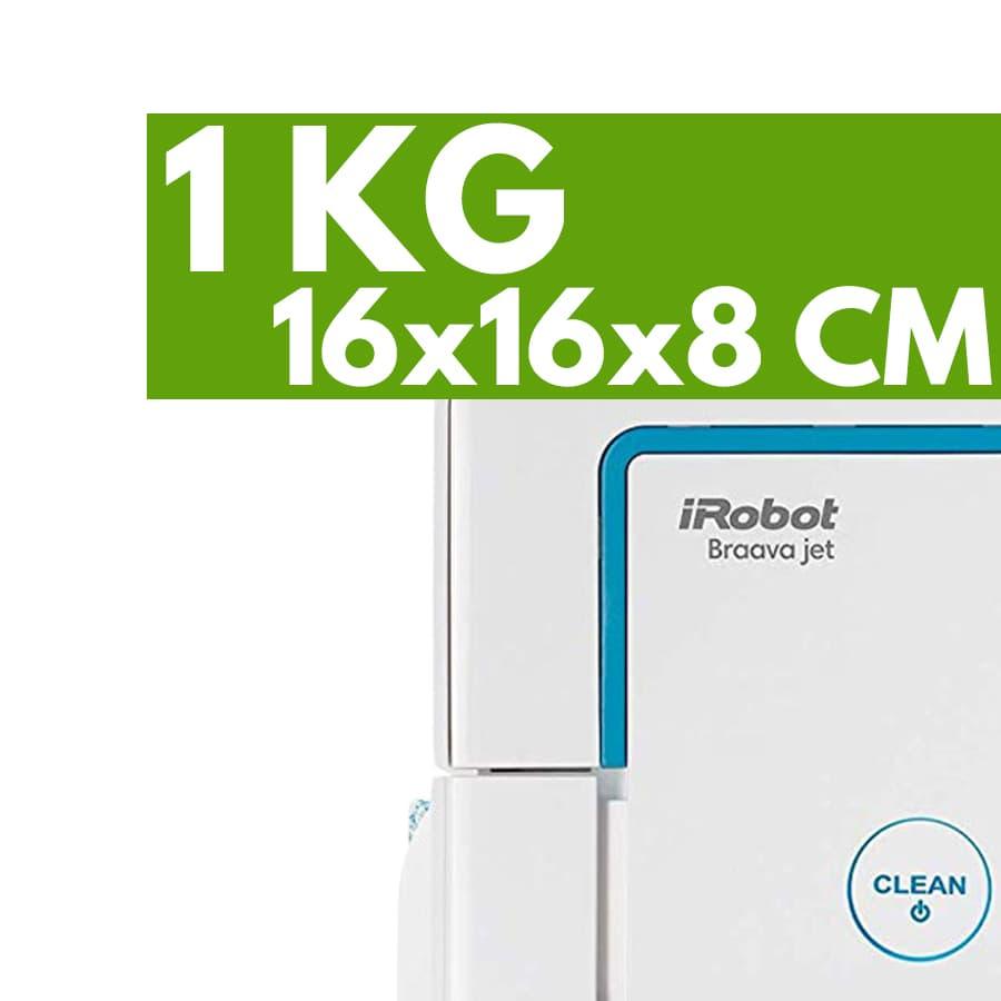 Peso dimensioni aspirapolvere robot iRobot Braava Jet 240