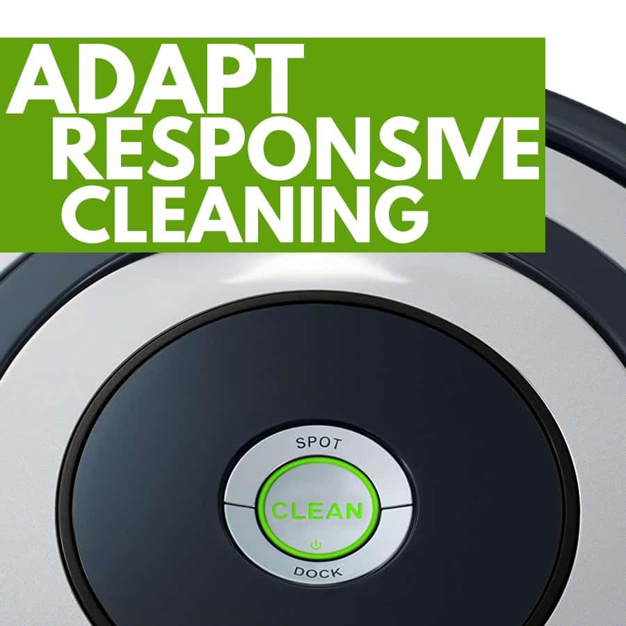 tecnologia Adapt Responsive Cleaning aspirapolvere robot iRobot Roomba 615