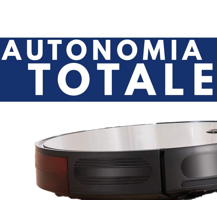 totale autonomia Bagotte robot aspirapolvere