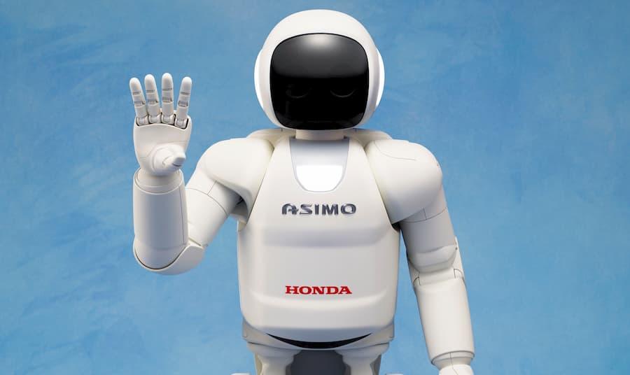 Robot aspirapolvere per scale Asimo