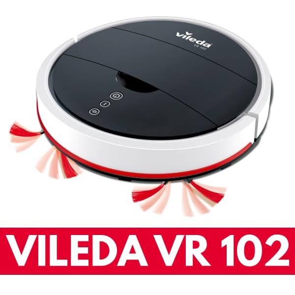 Aspirapolvere robot Vileda VR 102 recensione