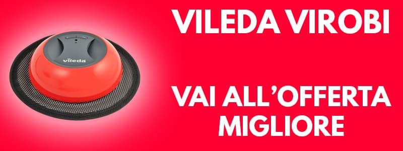 Banner acquisto Amazon aspirapolvere robot Vileda Virobi