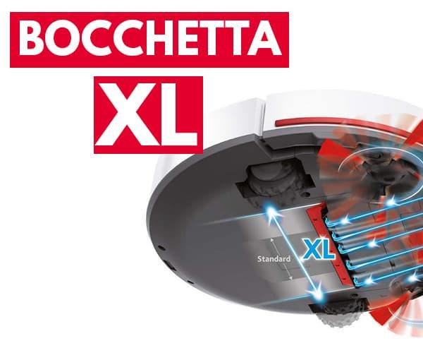 bocchetta XL aspirapolvere robot Vileda VR 102