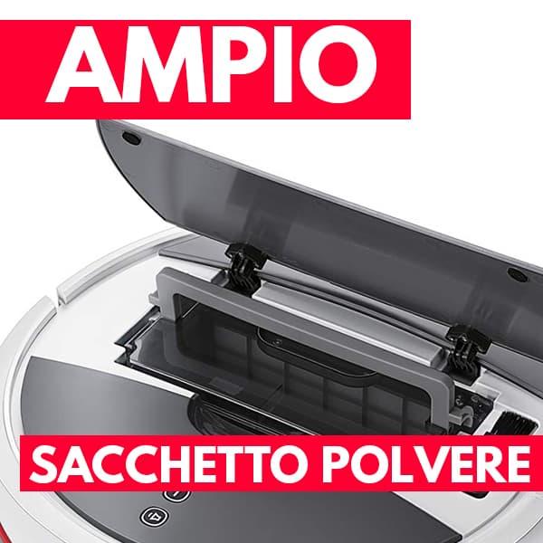 sacchetto polvere aspirapolvere robot Vileda